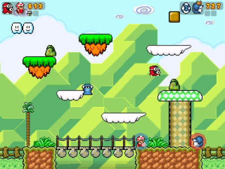 Screenshot Super Mario War