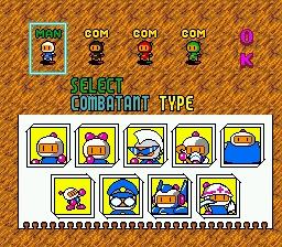 Seleccionar Bomberman
