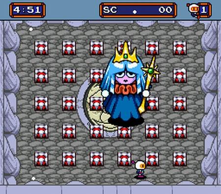 La reina de los hielos.