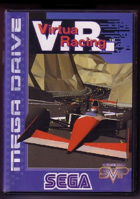 Caratula Virtua Racing Megadrive PAL
