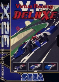 Caratula Virtua Racing Deluxe.