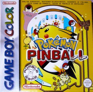 POKEMONES Y EMULADOR Pokemonpinballbox