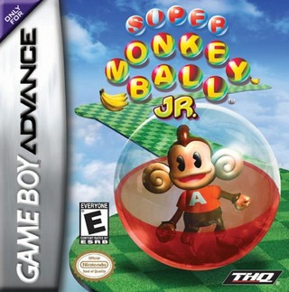 Caratula Super Monkey Ball Jr
