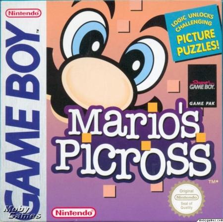 Carátula Mario's Picross