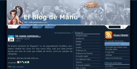 El blog de manu