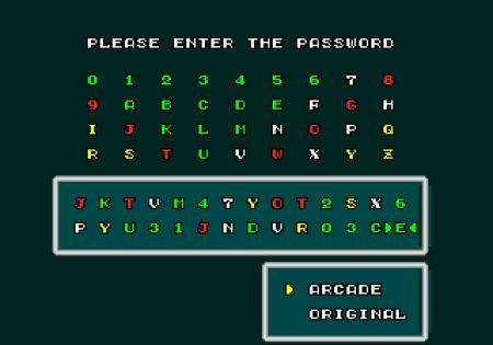 Password Super Hang On