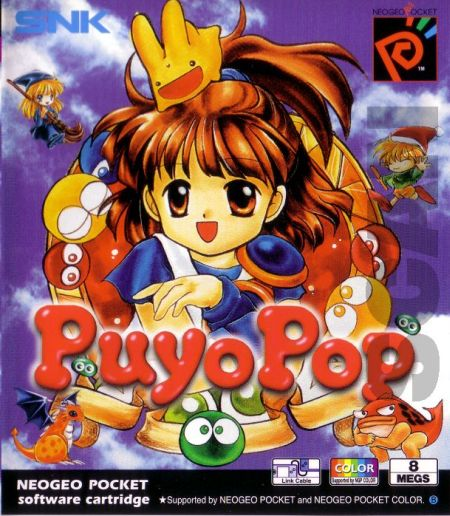 Caratula Puyo Pop Neogeo Pocket