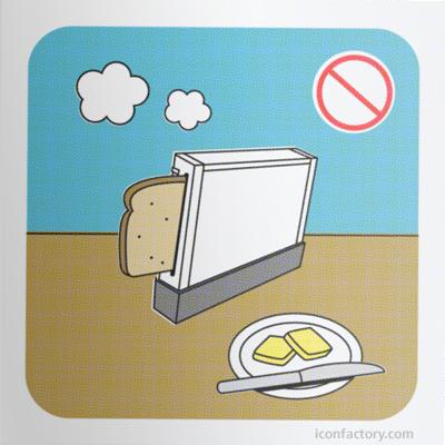 No le des de comer a la hora del desayuno.  X-D
