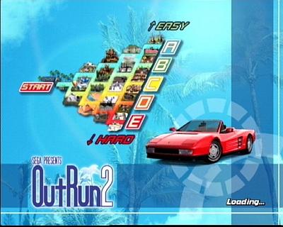 El famoso mapa del Outrun actualizado.