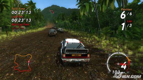 Sega Rally.