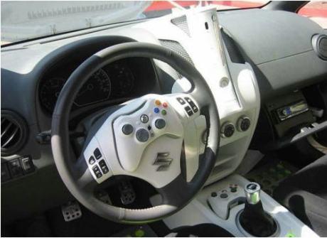 Como buen xboxer, así es mi coche.  X-D