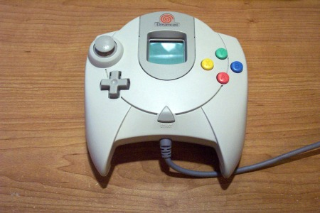 Mando de la Dreamcast.