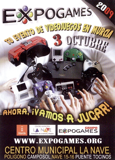 Publicidad Expogames 2009