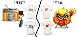 Camiseta N-gendros.