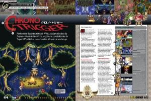 Un par de páginas sobre el Chrono Trigger.