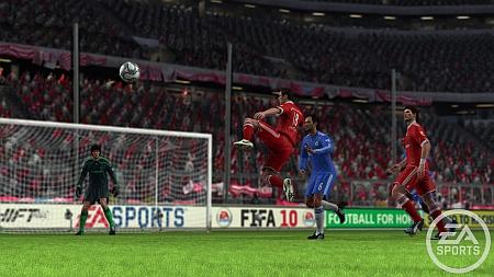 Otra imagen del FIFA 10.