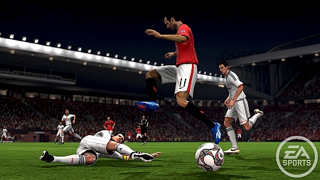 Y otra imagen mas del FIFA 10.  :)
