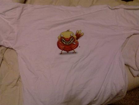 Camiseta de Artonio Pastor.