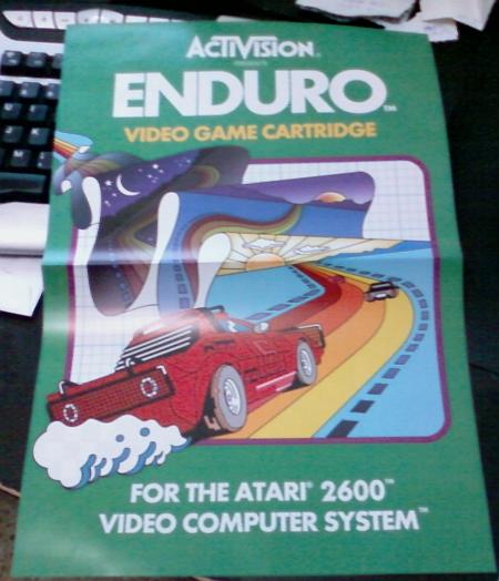 Enduro. Atari 2600