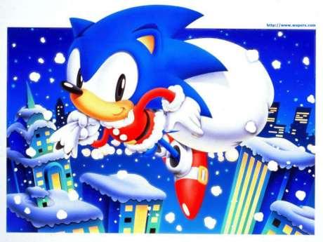 Sonic navideño.