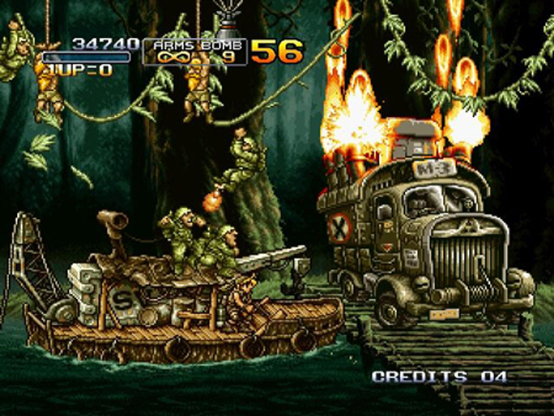 metal slug 4 descargar para pc