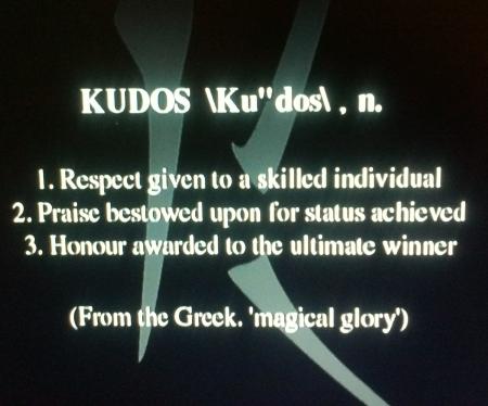 Descripción de Kudos.