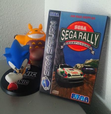SEGA Rally Saturn.