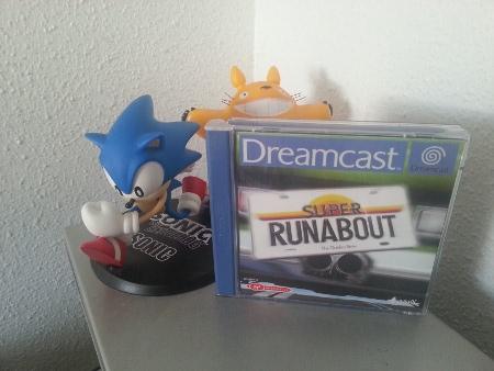 Super Runabout. Dreamcast.