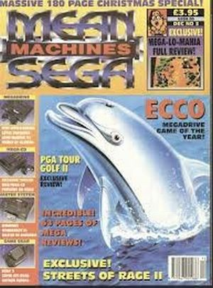 La pasión de Mean Machines por Ecco the Dolphin es digna de estudio…