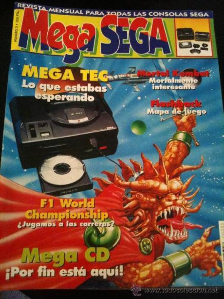 No es la Mega Sega nº 1, pero si la tienes guardala como si fuera oro...
