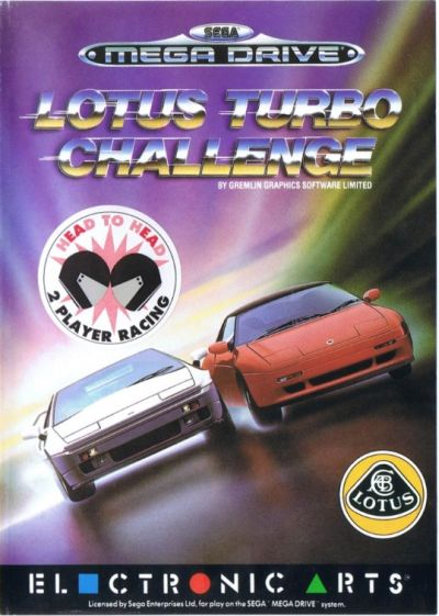Lotus-Turbo-Challenge Megadrive