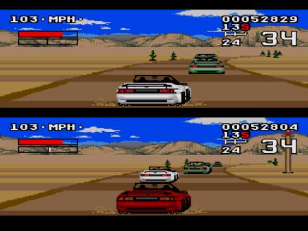 Pique en el Turbo Challenge.