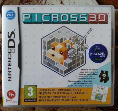 Portada Picross 3D.