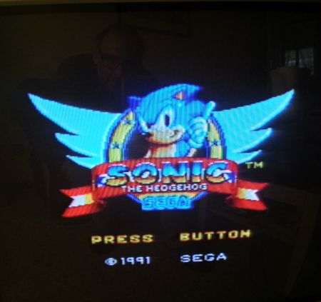 Sonic the Hedgehog de Master System.