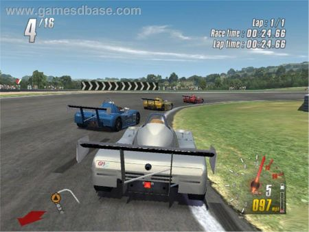 TOCA Race Driver 2 de Xbox.