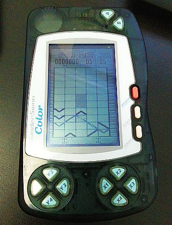 GunPey en mi WonderSwan Color. :)